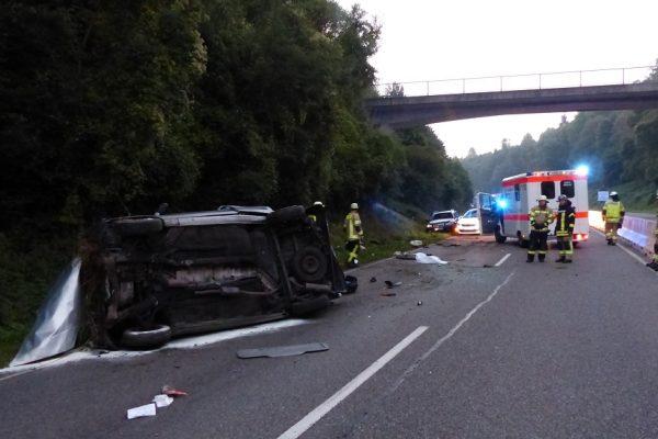 H 1 VU – Verkehrsunfall auf B 31