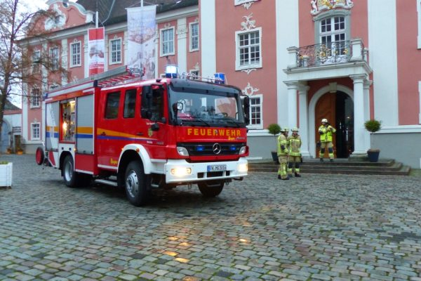 Einsatz 38 / 2017 – FBMA- Neues Schloss