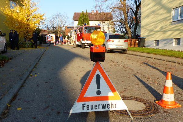 Jahreshauptübung der Freiwilligen Feuerwehr Stetten 17.11.18