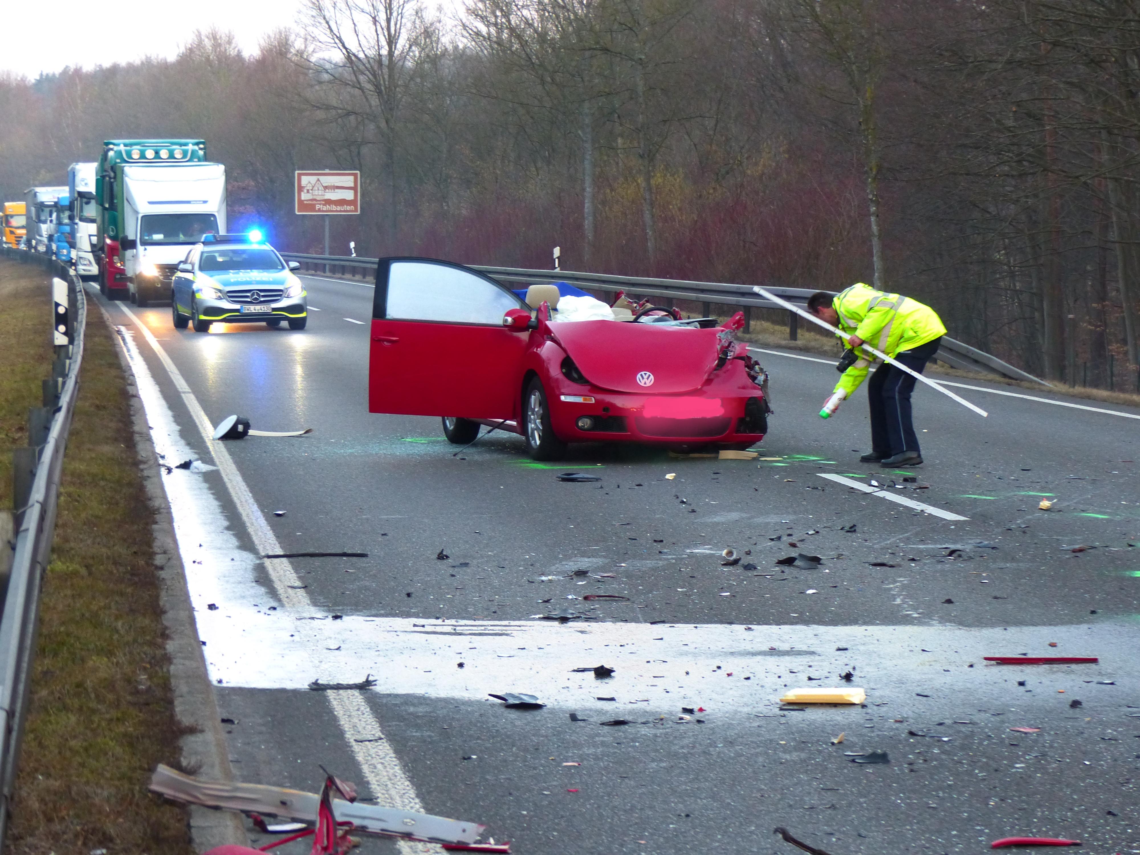 Unfall B31 Höllental Heute